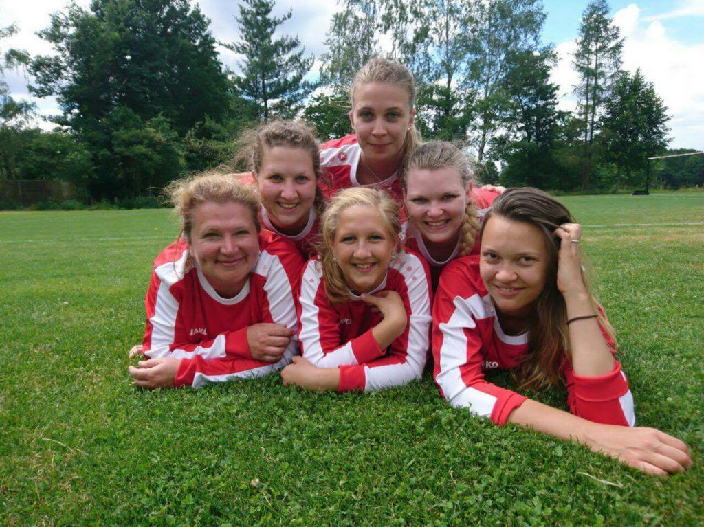 Faustball: Frauen_1